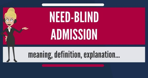 Study for free in USA: Need Blind Admission